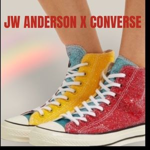 Men's JW Anderson x Converse sneakers collab